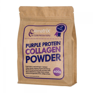 LIFEMATRIX PURPLE PROTEIN COLLAGEN POWDER [400G]