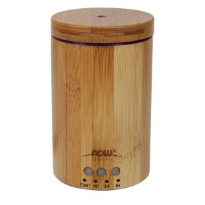 NOW FOODS SOLUTIONS ULTRASONIC BAMBOO ESSENTIAL OIL DIFFUSER