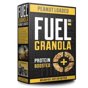 Fuel 10K Peanut Loaded Granola [400g]