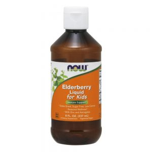 NOW FOODS ELDERBERRY LIQUID FOR KIDS [237ML]