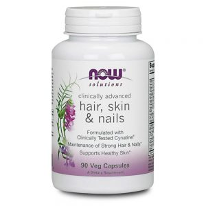 NOW FOODS SOLUTIONS HAIR SKIN & NAILS [90 CAPS]