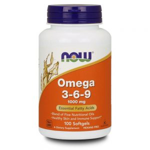 NOW FOODS OMEGA 369 1000MG [100 GELS]