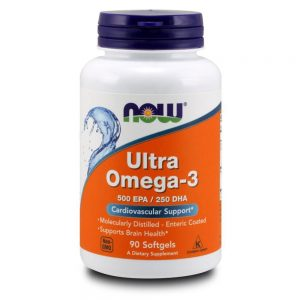 NOW FOODS ULTRA OMEGA 3 FISH OIL [90 GELS]
