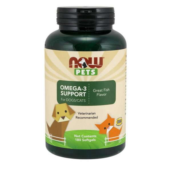 pet-health-now-foods-pets-omega-3-support-180-gels-complete_nutrition_supplements_health_fitness_online_store_best
