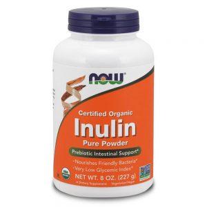 NOW FOODS INULIN POWDER ORGANIC [225G]
