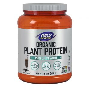 NOW FOODS SPORTS ORGANIC PLANT PROTEIN [907G]