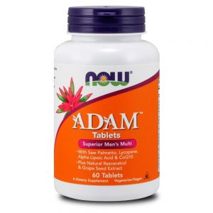 NOW FOODS ADAM [60 TABS]