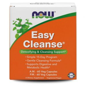 NOW FOODS EASY CLEANSE KIT [120 CAPS]