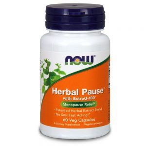 NOW FOODS HERBAL PAUSE [60 CAPS]