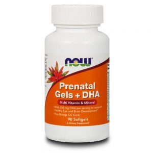 NOW FOODS PRENATAL MULTI + DHA [90 GELS]