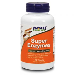 NOW FOODS SUPER ENZYMES [90 TABS]